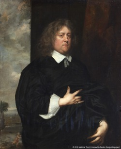 The Picture of Sir William Paston (1610-1663) which hangs at Felbrigg Hall © National Trust