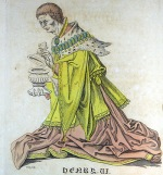 Henry VI as depicted in Fenn's edition of the Paston Letters - click to view the full sized version